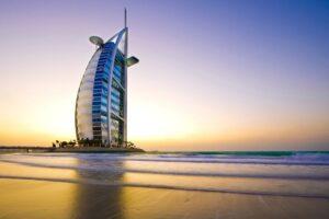 El primer hotel de 7 estrellas del mundo está en Dubái