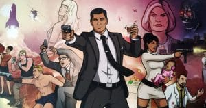 The art of Archer: libro que captura la esencia de la serie animada