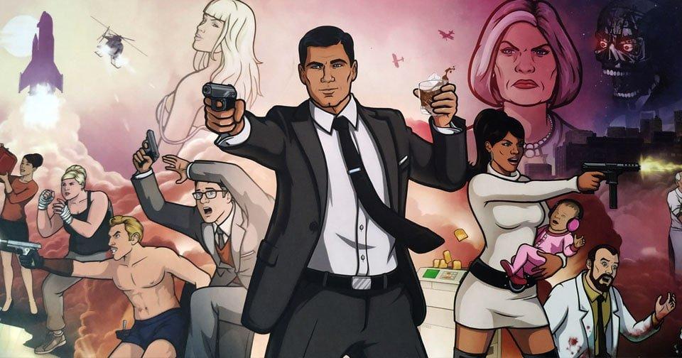 The art of Archer: libro que captura la esencia de la serie animada