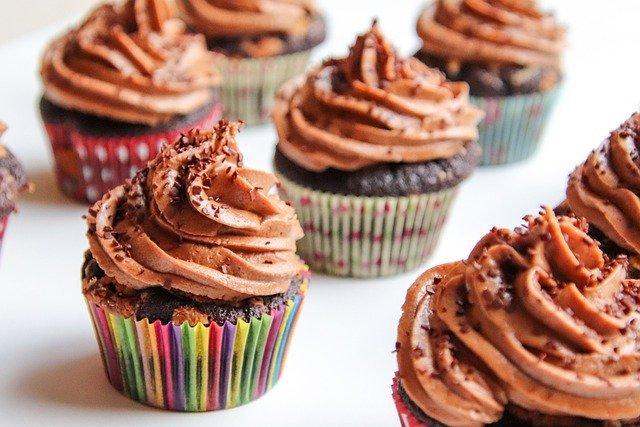 cupcakes chocolate y recetas fáciles de chocolate en 10 minutos (o un poco más)