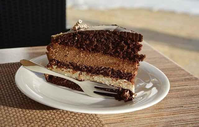 pastel de chocolate y bizcocho y recetas fáciles de chocolate en 10 minutos (o un poco más)