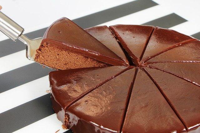 tarta chocolate cremosa y recetas fáciles de chocolate en 10 minutos (o un poco más)