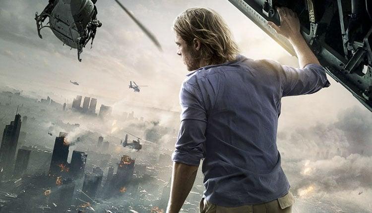 Portada promocional Guerra mundial Z: película de 2013, novela y videojuego