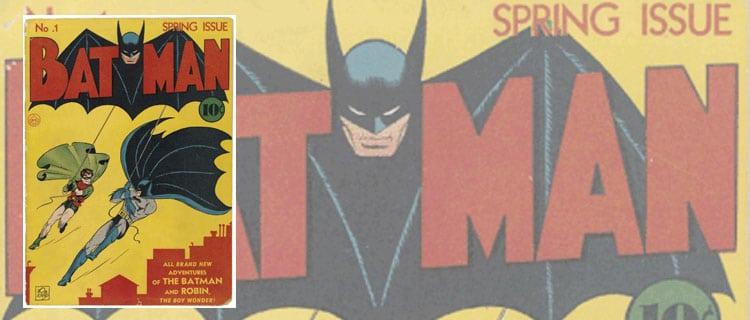 batman 1. Los cómics más caros de la historia
