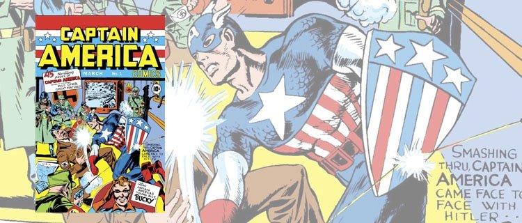 captain america 1. Los cómics más caros de la historia