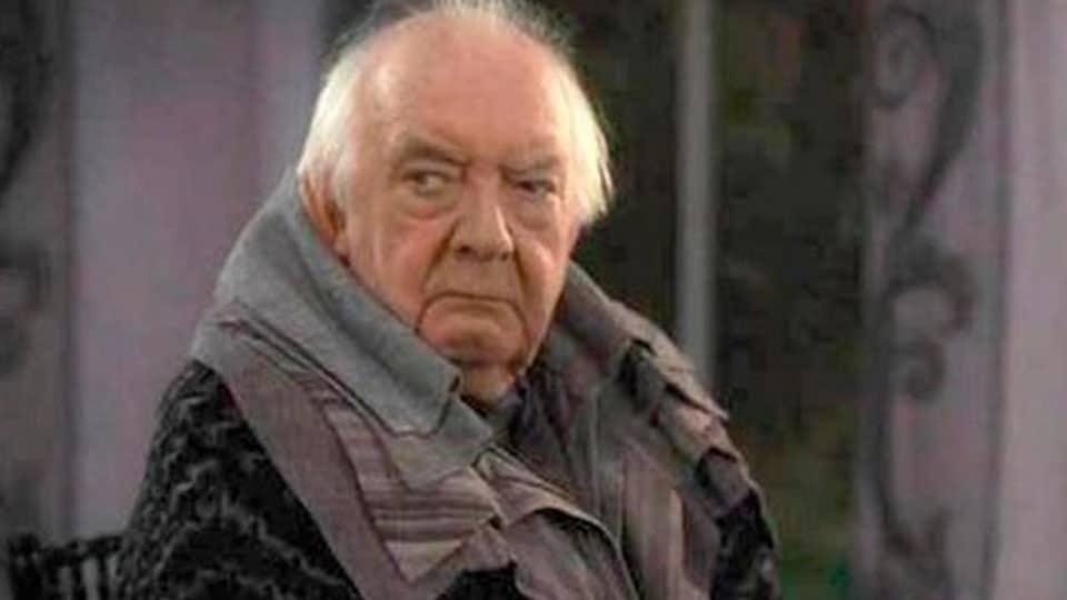David Ryall (Elphias Doge). Actores de la saga de Harry Potter fallecidos en la vida real