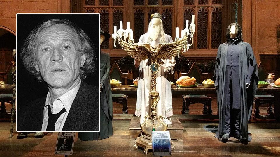 Richard Harris. Actores de la saga de Harry Potter fallecidos en la vida real