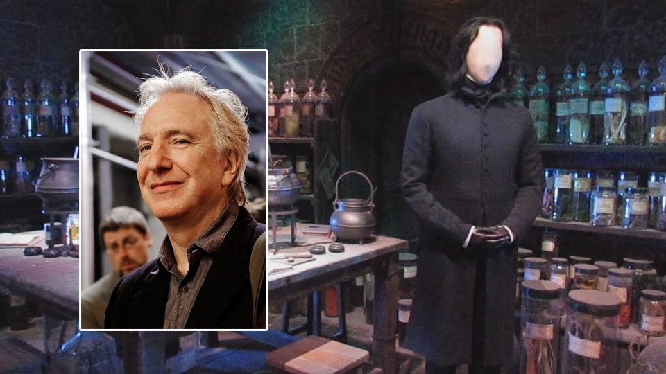 alan rickman. Actores de la saga de Harry Potter fallecidos en la vida real