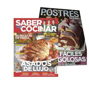 Saber cocinar y postres. Regalos revistas enero 2021: comienza el año con fuerza