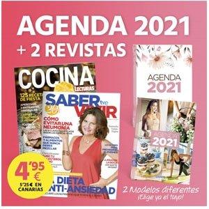 Agenda Saber vivir. Regalos revistas diciembre 2020: llega la Navidad