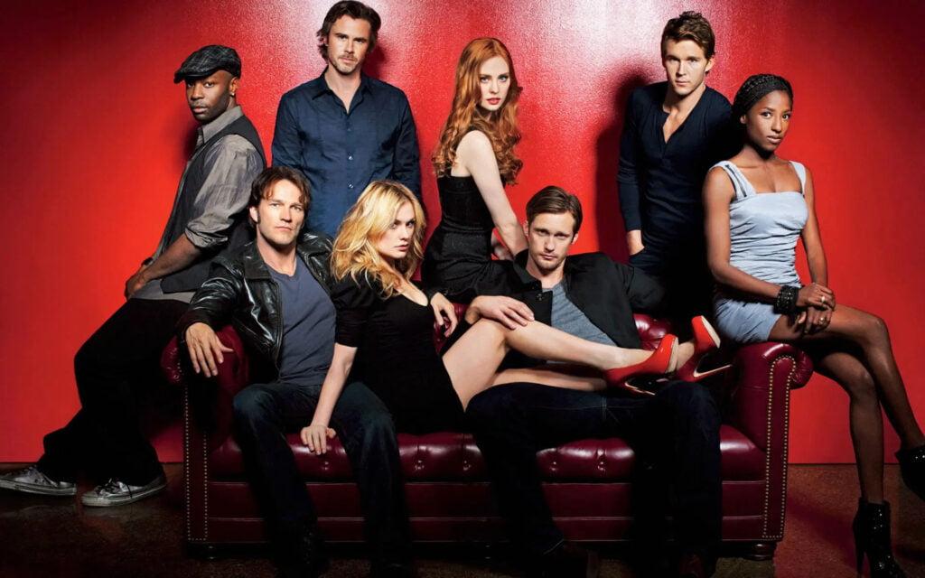 Imagen promocional de la serie de televisión. Personajes de True Blood: lee todos los libros de la saga en orden