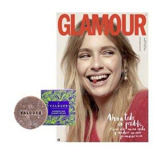 Glamour champú pastilla ecológico Regalos revistas Febrero 2021 y sus promociones