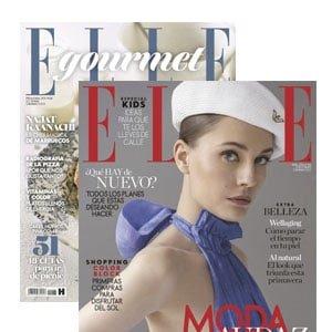 Revista Elle con regalo de Elle gourmet Regalos revistas Abril 2021: Lluvia y sol ¿quién da más?