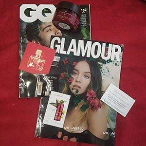 Regalos Revista Glamour Abril 2021 Mayo 2021- Rituals Ayurveda - Revista CQ