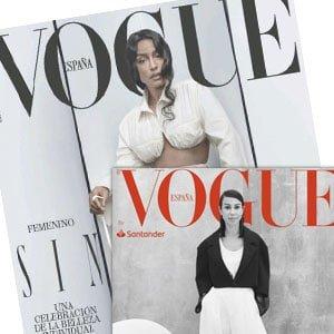 Vogue mayo 2021 con Vogue Business. Regalos revistas españolas.