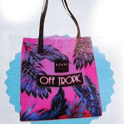 nyx off tropic bolsa regalo cosmopolitan septiembre 2021