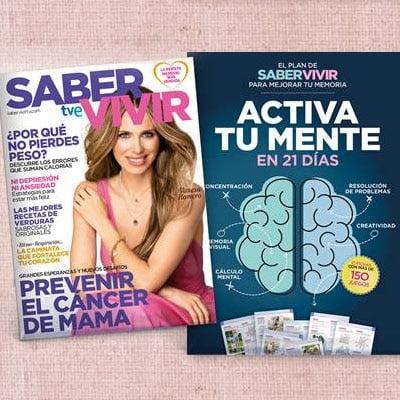 saber vivir activa tu mente en 21 días regalos revistas españolas octubre 2021